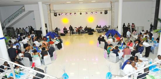 2nd Floor: banquet hall